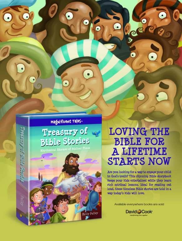 Treasury of Bible Stories one sheet